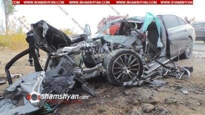 Խոշոր ավտովթար Արմավիրի մարզում. բախվել են Mercedes-ը, КамАЗ-ը, Opel-ը. կան վիրավորներ