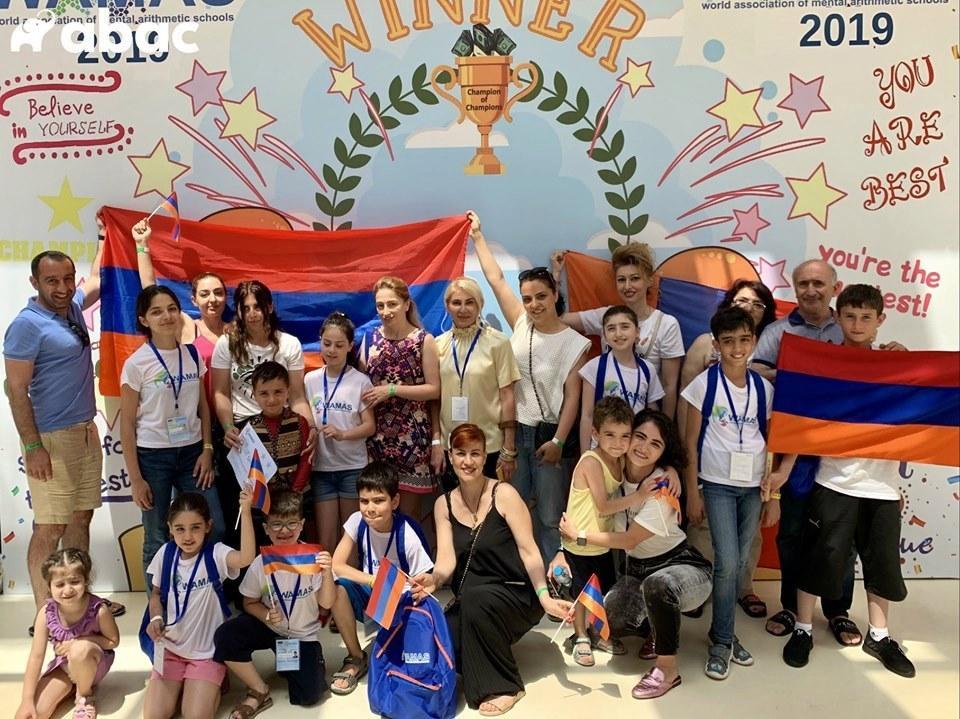 «Աբակ» Հայաստանում առաջին մենթալ թվաբանության ակադեմիայի սաները կրկին կմրցեն միջազգային հարթակում