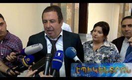 ՏԵՍԱՆՅՈՒԹ. «ԱԺ-ն չի որոշում՝ Հրայր Թովմասյանը մնա՞,թե՞ հեռանա». Գագիկ Ծառուկյանը ներկայացրել է ԲՀԿ-ի դիրքորոշումը