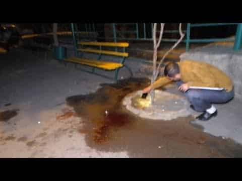 Ոստիկանությունը տեսանյութ է հրապարակել Անդրանիկի փողոցում 29-ամյա երիտասարդի սպանության դեպքի վայրից