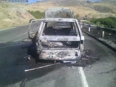 ՏԵՍԱՆՅՈՒԹ. Սարավան գյուղում այրվել է մեքենա