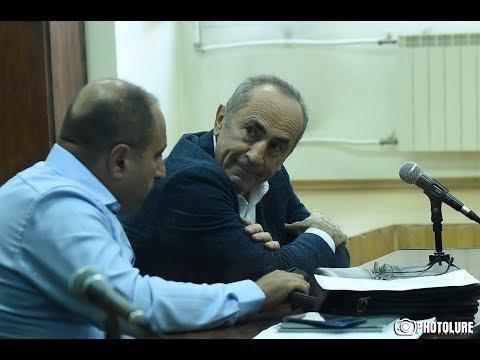 Ռոբերտ Քոչարյանի և մյուսների գործով դատական նիստը. ՈՒՂԻՂ