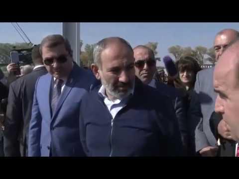ՏԵՍԱՆՅՈՒԹ. Նիկոլ Փաշինյանն այցելել է Գյումրիում կառուցվող ավտոմաքսատուն