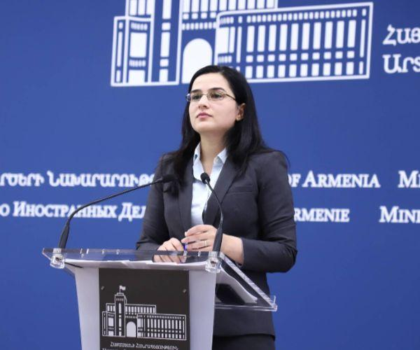 ՀՀ ԱԳՆ մամուլի խոսնակի արձագանքը՝ Էլմար Մամեդյարովի հարցազրույցին