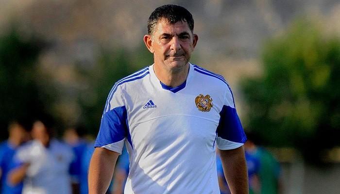 Հայաստանի ազգային հավաքականի գլխավոր մարզիչը հրաժարական է ներկայացրել