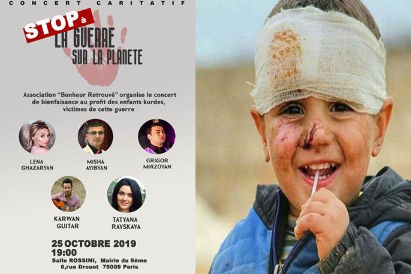 Ձեռք մեկնել պատերազմից տուժած Սիրիայի և Դոնեցկի փոքրիկներին. Bonheur Retrouve բարեգործական ասոցիացիայի հերթական բարեգործական նախաձեռնությունը