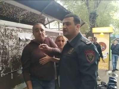 Միջադեպ Երևանում ոստիկանի մասնակցությամբ. քաղաքացին ձերբակալվել է
