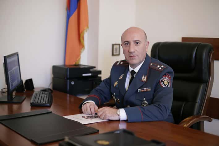 Նոր նշանակումներ ոստիկանությունում. Երևանը ՃՈ նոր պետ ունի