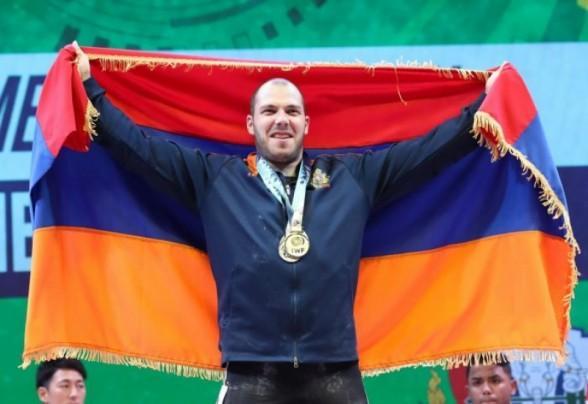 Հակոբ Մկրտչյանը Եվրոպայի երիտասարդների առաջնության ոսկե մեդալակիր է