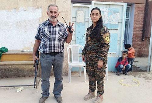 Հայր և դուստր Հովսեփն ու Անուշը Սիրիայում կռվում են թուրքերի դեմ