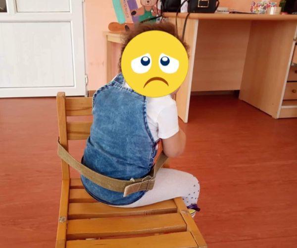Երևանի թիվ 92 մանկապարտեզում երեխաներին գոտիներով կապել են աթոռից (լուսանկարներ)