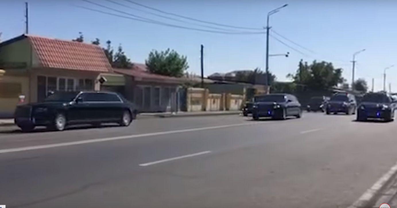 ՏԵՍԱՆՅՈՒԹ. Պուտինի ավտոշարասյունը Հայաստանում