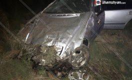 ՖՈՏՈ. Ողբերգական ավտովթար Արմավիրի մարզում. 35-ամյա վարորդը տեղում մահացել է