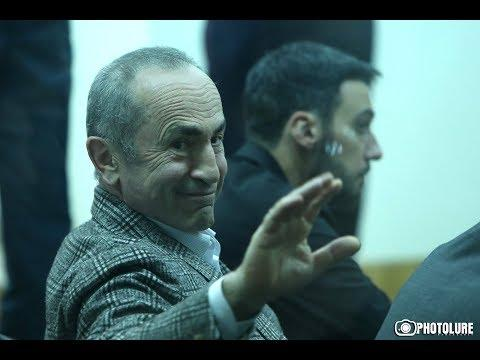 ՏԵՍԱՆՅՈՒԹ. «Լավ բաներ չեմ ասելու». Քոչարյանը`դատավորին