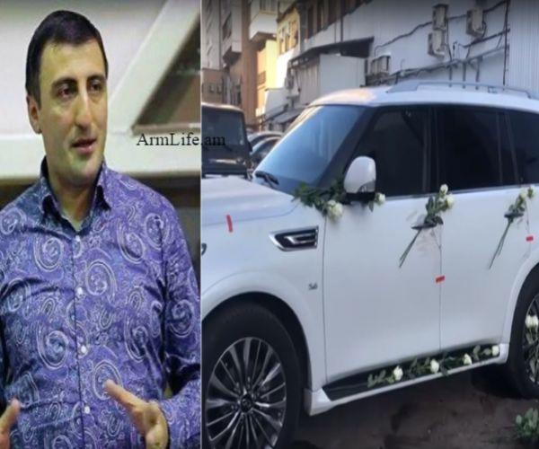 ՏԵՍԱՆՅՈՒԹ. Ավտոմեքենան պատված է սպիտակ վարդերով, բռնցքամարտի չեմպիոն Աշոտ Բոլյանին սպանողը պրոֆեսիոնալ մարդասպան է