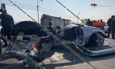 ՏԵՍԱՆՅՈՒԹ. Կադրեր՝ Երևանում տեղի ունեցած սարսափելի վթարից