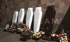 Նոր Հաճնում տեղի է ունեցել շմոլ գազի թունավորումից մահացած տատիկի և 4 թոռների հոգեհանգիստը