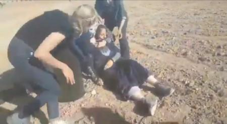 ՏԵՍԱՆՅՈՒԹ. Ինչպես են թուրք զինվորները կրակում անմարդկային վերաբերմունքից բողոքող կնոջ վրա