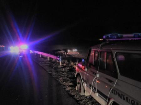 Ողբերգական ավտովթար Սյունիքի մարզում. կա 2 զոհ, 4 վիրավորներից 2-ը երեխաներ են