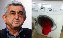 Սերժ Սարգսյանը լվացքի մեքանան էլ է տարել