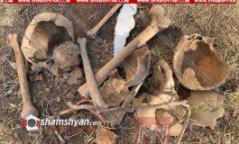 Արտակարգ դեպք Երևանում. հիվանդանոցի հարևանությամբ մարդկային ոսկորներ ու գանգեր են հայտնաբերվել