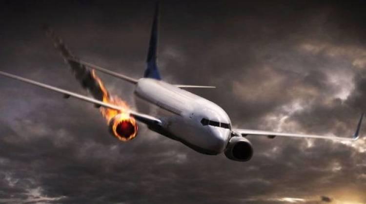 Այրվող շարժիչով ինքնաթիռը վթարային վայրէջք է կատարել