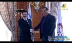 ՏԵՍԱՆՅՈՒԹ. Գագիկ Ծառուկյանն ընդունել է Արաբական երկրների ըմբշամարտի ֆեդերացիայի նախագահին. ստորագրվել է հուշագիր