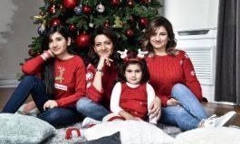 ՖՈՏՈ. Աննա Հակոբյանը հրապարակել է դստեր՝ Արփիի ամանորյա լուսանկարը