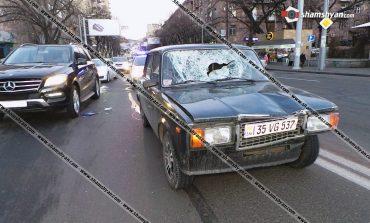 ՖՈՏՈ. Երևանում 37–ամյա վարորդը 07-ով ստորգետնյա անցումի վրա վրաերթի է ենթարկել փողոցը չթույլատրելի հատվածով անցնող 63–ամյա հետիոտնին