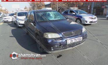 Երևանում 24–ամյա վարորդը, ով չունի վարորդական իրավունքի վկայական, վրաերթի է ենթարկել 17-ամյա հետիոտնի