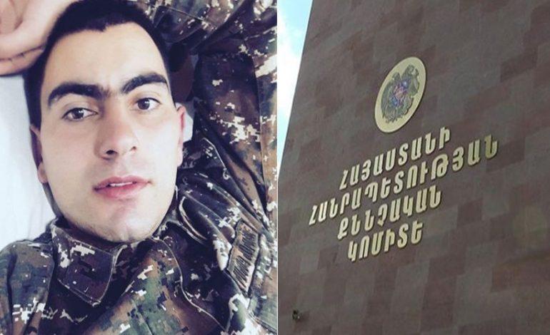 ՔԿ-ն` լեյտենանտ Հայկ Ասրյանի մահվան մասին տեղեկություն է հայտնել