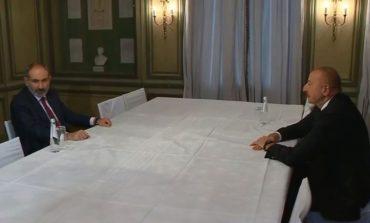 ՏԵՍԱՆՅՈՒԹ. Նիկոլ Փաշինյանը հանդիպում է Իլհամ Ալիեւի հետ