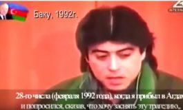 VIDEO. Սկանդալային տեսանյութի հրապարակումից հետո ադրբեջանական կողմը դիմել է հայ փորձագետին. Այազ Մութալիբովը՝ Խոջալուի մասին