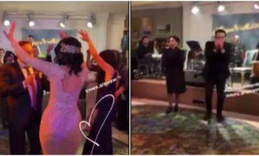 ՏԵՍԱՆՅՈՒԹ. Արփինե Հովհաննիսյանի հարսանիքից նոր կադրեր. պարում են հարսն ու փեսան