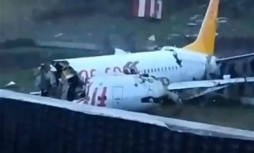 ՏԵՍԱՆՅՈՒԹ. Թուրքիայում ուղևորներով լի օդանավը բաժանվել է 3 մասի