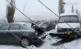 Արտակարգ իրավիճակ Կոտայքի մարզում. 35-ից ավելի ավտոմեքենաներ բախվել են իրար