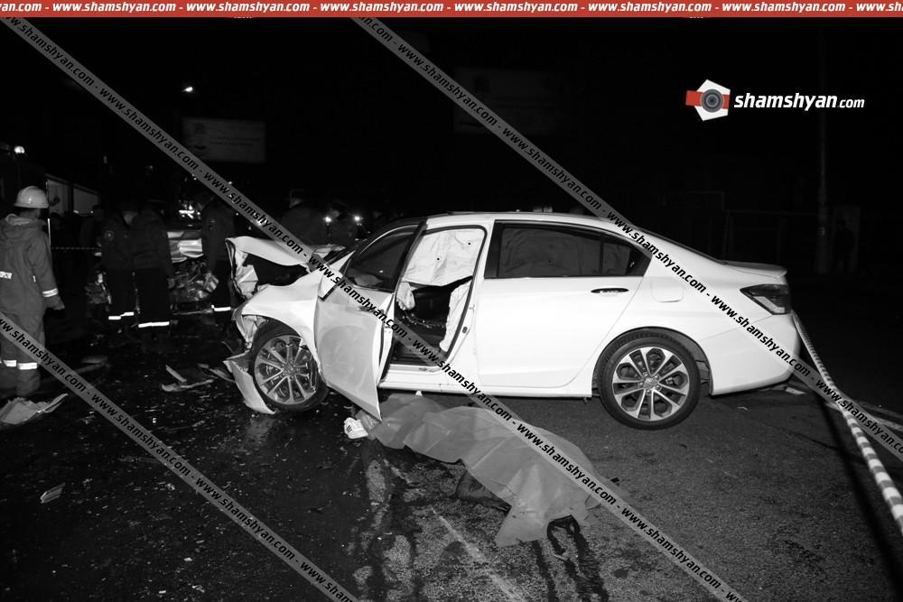 ՖՈՏՈ. Խոշոր ու ողբերգական ավտովթար Երևանում. կան զոհեր ու վիրավորներ