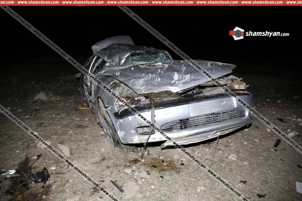 ՖՈՏՈ. Կասկադյորական ավտովթար Երևանում. կան վիրավորներ
