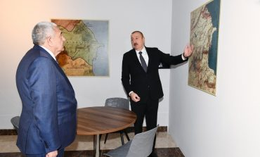 ՏԵՍԱՆՅՈՒԹ. Ալիևը զայրացել է. «Հին Ադրբեջան»-ի քարտեզի վրա նա չի գտել Ադրբեջանը, բայց տեսել է Ուրարտուի թագավորությունը