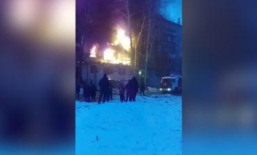 ՏԵՍԱՆՅՈՒԹ. Դժբախտ պատահար. բնակելի շենք է այրվում Ռուսաստանում