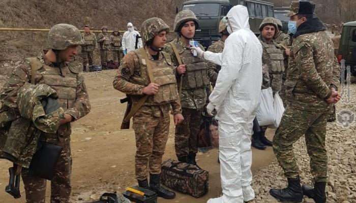 3 զինծառայող կորոնավիրուսի թեստ է հանձնել. ՊՆ
