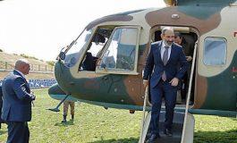 Ինչու է Նիկոլ Փաշինյանն ուղղաթիռով գնացել Սյունիք. վարչապետի արձագանքը և հարց «ոչիստներին»