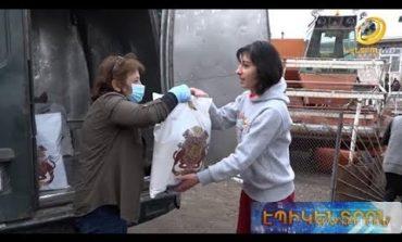 ՏԵՍԱՆՅՈՒԹ. Սննդամթերք Գեղարքունիքի մարզի 1000-ավոր ընտանիքներին՝ «Գագիկ Ծառուկյան» հիմնադրամից