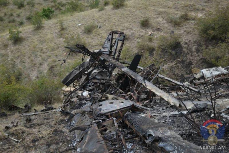 ՖՈՏՈ. Թշնամական օդուժի հերթական կորուստը