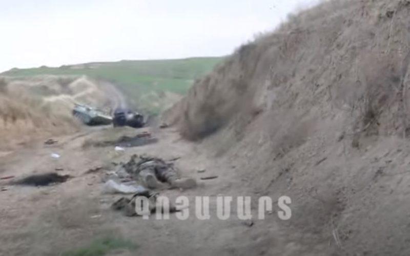 ԲԱՑԱՌԻկ ԿԱԴՐԵՐ. Ադրբեջանական կենդանի ուժի ու զինտեխնիկայի կորուստները |