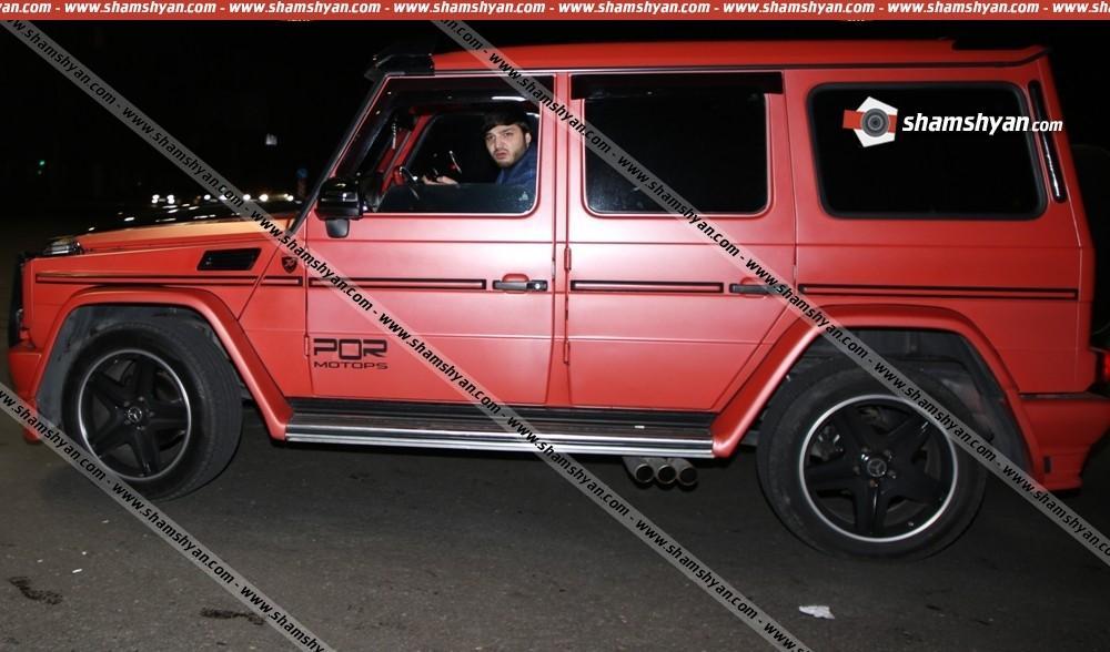 ՖՈՏՈ․ Խոշոր ավտովթար Երևանում, ինչ էր անում դեպքի վայրում  Mercedes մակնիշի  վարդագույն յաշիկի վարորդը